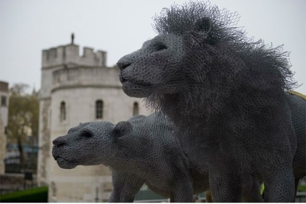 berühmte kunstwerke kunst lions tower of london