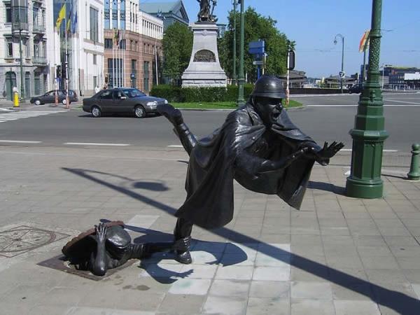 berühmte kunstwerke kunst square sainctelette