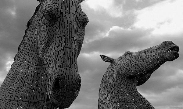 berühmte kunstwerke kunst the kelpies skulptur