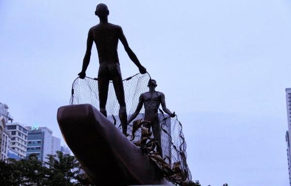 art kunst statuen pasasalamat