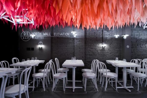 bar restaurant design weiße möbel what happens when new york