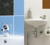 Badezimmer Fliesen überkleben - Fliesenaufkleber für alte Fliesen