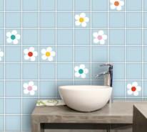 Fliesen überkleben Bad badezimmer fliesen überkleben fliesenaufkleber für alte fliesen