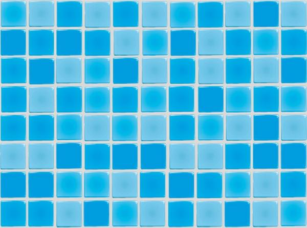 badezimmer fliesen überkleben klebefolie blau musaik