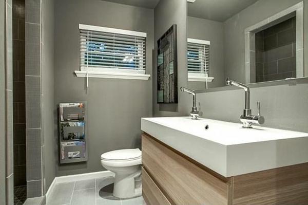 Badezimmergestaltung Ideen - Farben und Muster