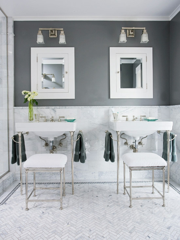 badezimmer gestaltung ideen badezimmer grau weiß