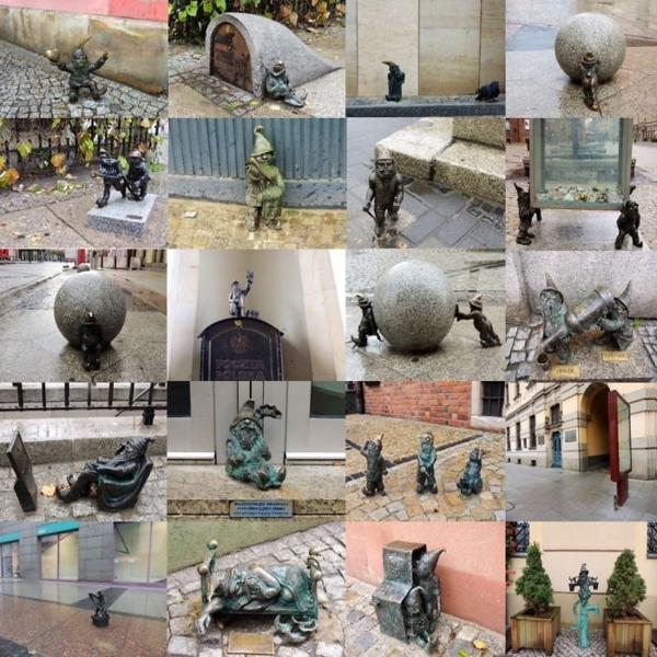 berühmte kunstwerke skulptur gnomes