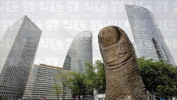 kunstwerke kunst skulpturen the giant finger