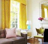 Farbideen für Wohnzimmer – lebhaftes Ambiente in jedem Zuhause