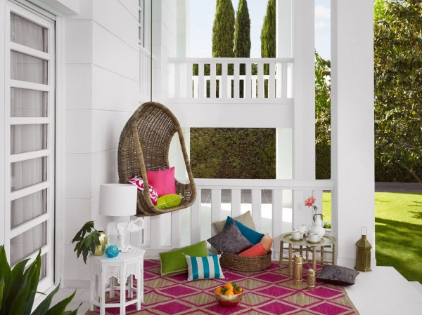coole wohnideen wohntrends 2014 außenbereich terrasse geometrische muster eppich