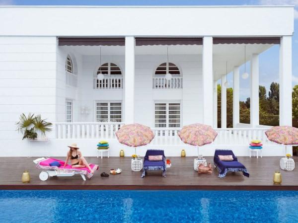 coole wohnideen wohntrends 2014 außenbereich tropische motive am pool
