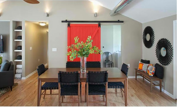 15 Hinreißende Esszimmer In Rot, Weiß Und Schwarz Esszimmer Deko Ideen