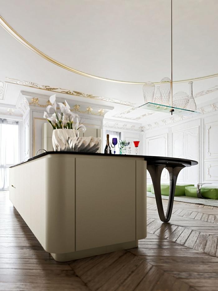 designerküchen moderne küchen kücheninsel minimalistisch stilvoll
