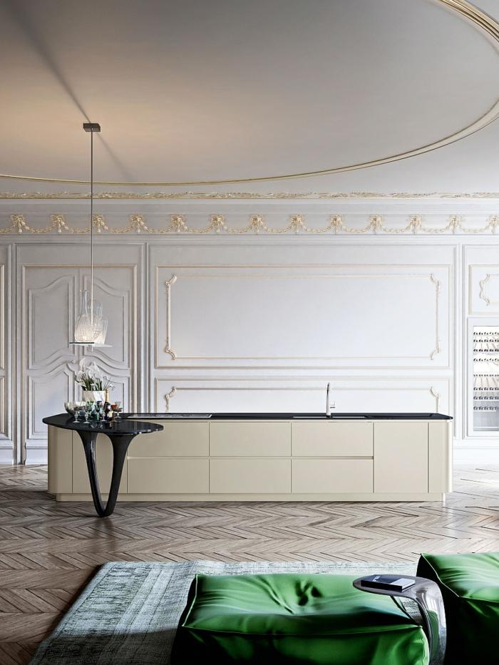 designerküchen moderne küchen kücheninsel minimalistisch