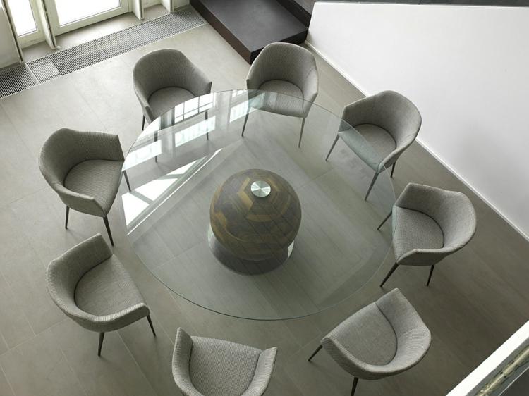 designer esstische verwandeln ihr esszimmer in ein. Black Bedroom Furniture Sets. Home Design Ideas