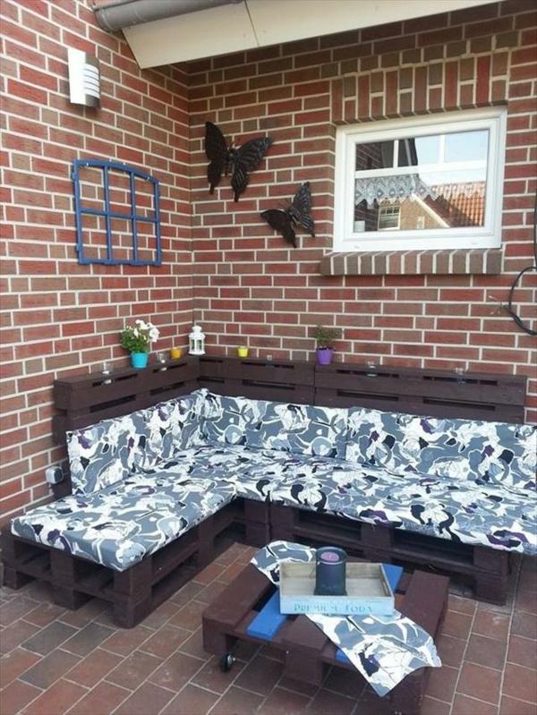 diy möbel couchtisch sofa balkonmöbel selber bauen europaletten