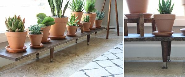 diy projekte selbstgemachte pflanzenst nder f r ihren raum. Black Bedroom Furniture Sets. Home Design Ideas