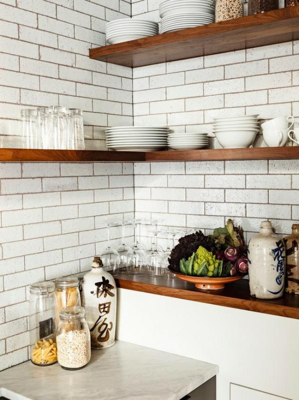 eckregal zum raumsparen - ideen für eine praktische organisation - Eckregale Küche