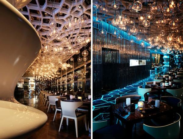 restaurant einrichtung ideen ozone bar china