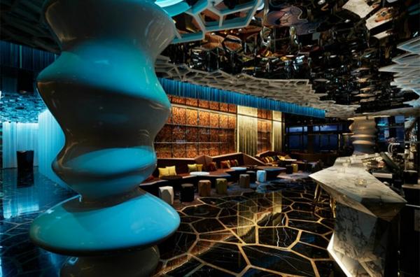 restaurant einrichtung interieur ideen ozone bar china