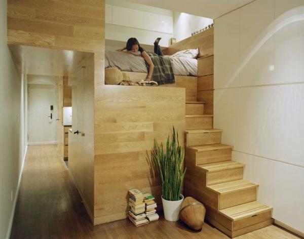 Einraumwohnung einrichten operieren sie clever mit ihrem for Raum einrichten