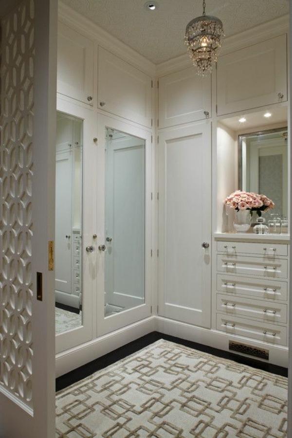 einrichtungsideen ankleidezimmer möbel elegant holz