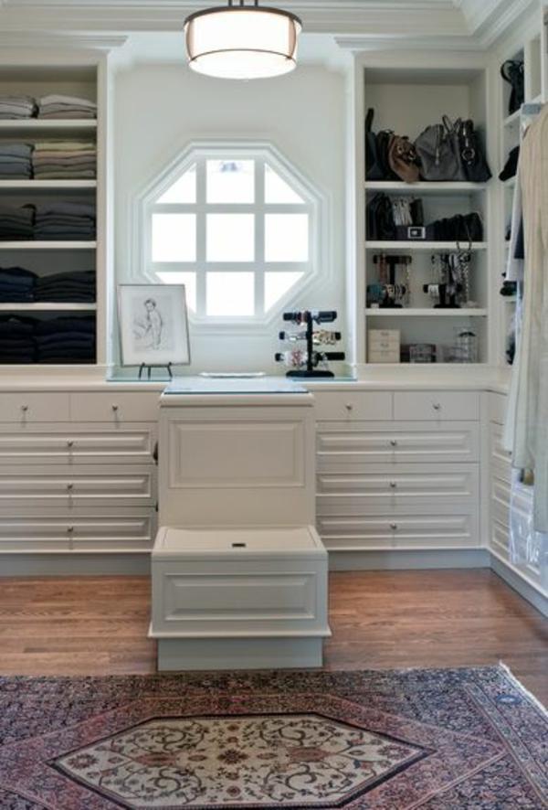 einrichtungsideen ankleidezimmer möbel elegant holz garderobe
