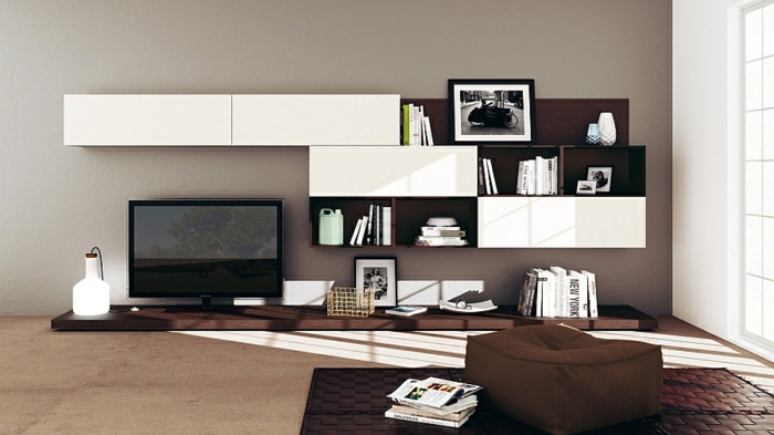 Wohnzimmer einrichtungsideen im minimalistischen stil for Einrichtungsideen wohnzimmer modern