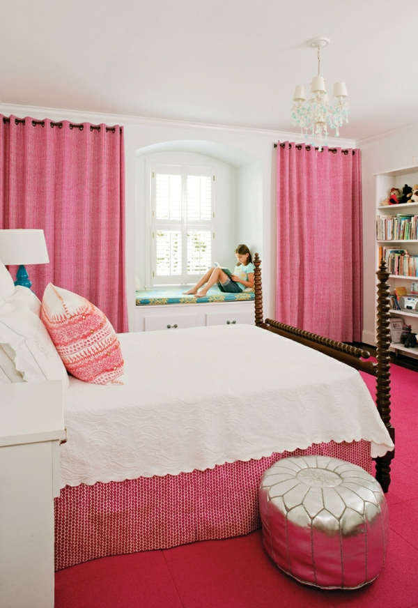 beautiful schlafzimmer einrichten rosa photos - amazing design