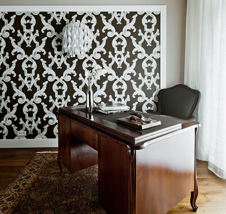 einrichtungstipps modern wohnen designer möbel arbeitszimmer wandgestaltung