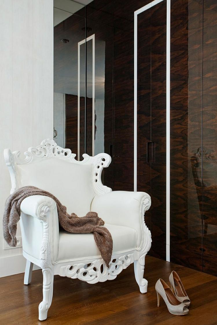 einrichtungstipps modern wohnen designer möbel polstersessel schneeweiß