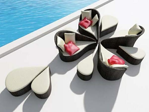 exterior design patio rattanmöbel für outdoor polyrattan