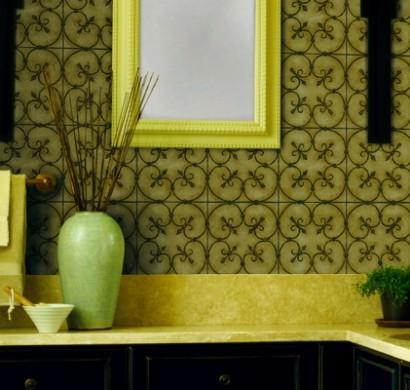 Eine entspannende Badezimmergestaltung mit Pflanzen fürs Bad - fresHouse