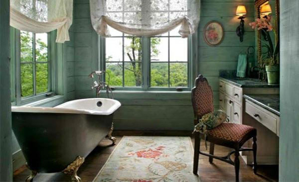 freistehende badewannen im viktorianischen stil. Black Bedroom Furniture Sets. Home Design Ideas