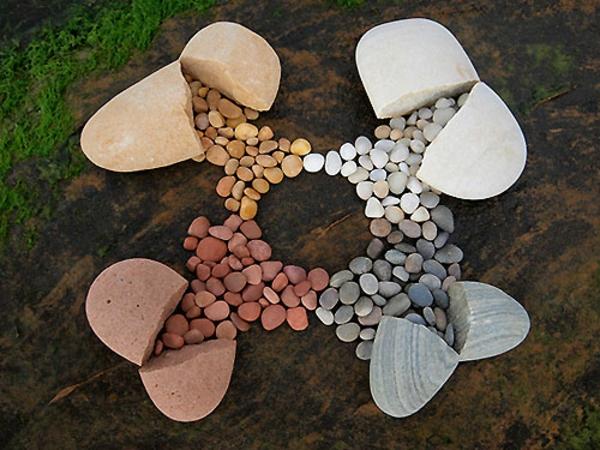 garten deko gartenaccessoires art steine
