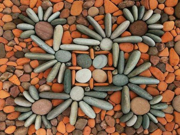 gartenaccessoires dekoideen geometrische formen