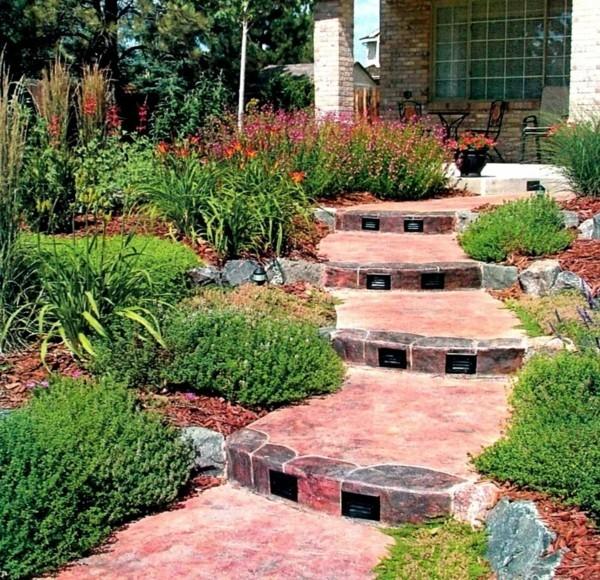 50 Ideen für Gartentreppe selber bauen - leichter Zugang ...