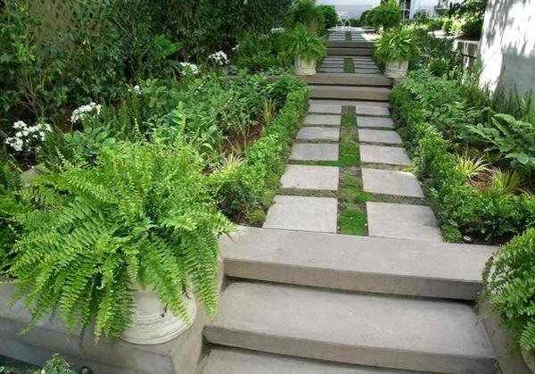 50 ideen für gartentreppe selber bauen - leichter zugang und, Gartenarbeit