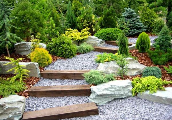 50 ideen f r gartentreppe selber bauen leichter zugang for Garden idea et 700