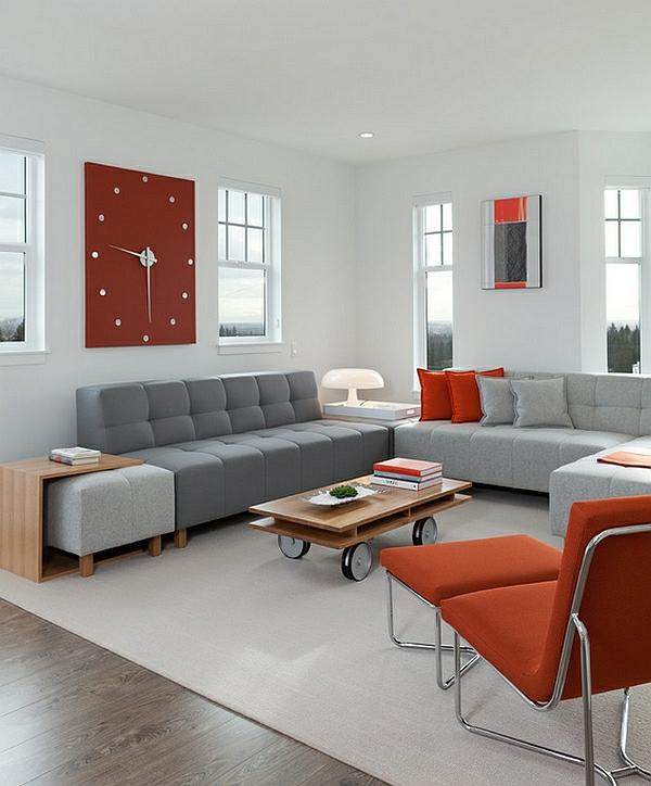 großartig ausgeklügelt wohnzimmer sofa grau