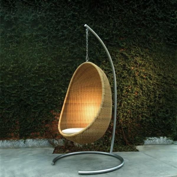 Designer hangesessel mit gestell - weitsicht.info