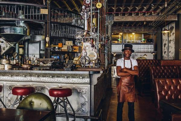 bar restaurant einrichtung interior ideen truth cafe südafrika