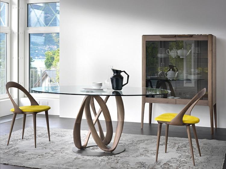 Tisch design rund  Designer Esstische verwandeln Ihr Esszimmer in ein reizendes Ambiente