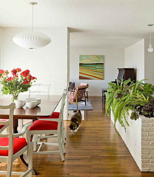 designideen pflanzen wohnzimmer gartenideen