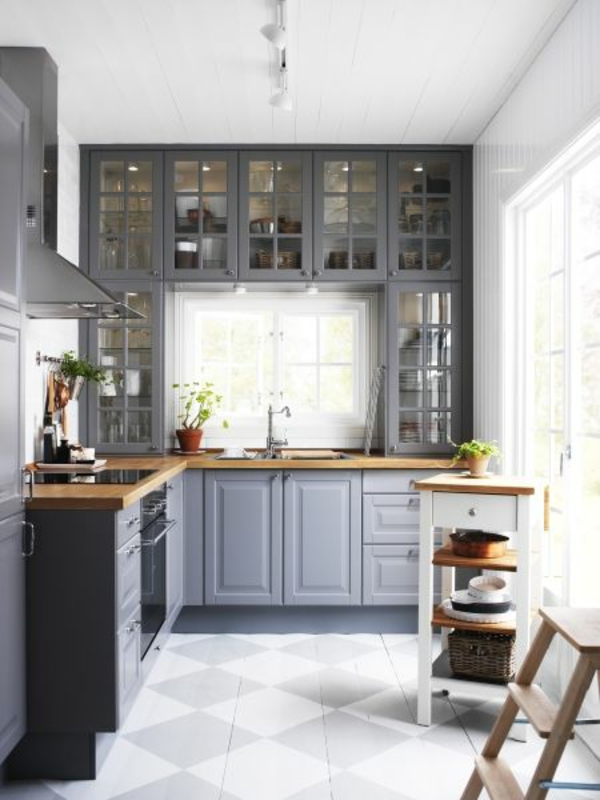 küchenfronten erneuern holz küchenschränke neu streichen