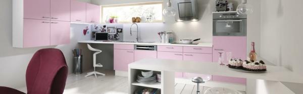 küchenschränke bekleben klebefoliein zartem rosaküchenfronten erneuern