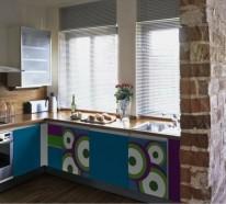 Alte küchenmöbel  Küchenschränke bekleben - Wie kann man alte Küchenfronten erneuern