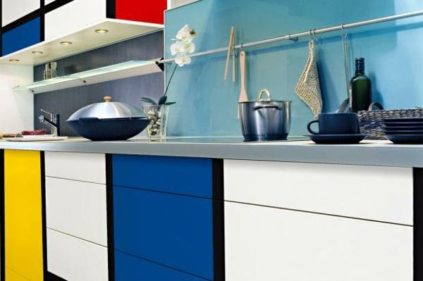 küchenschränke bekleben mit folie mondrian küchenfronten erneuern
