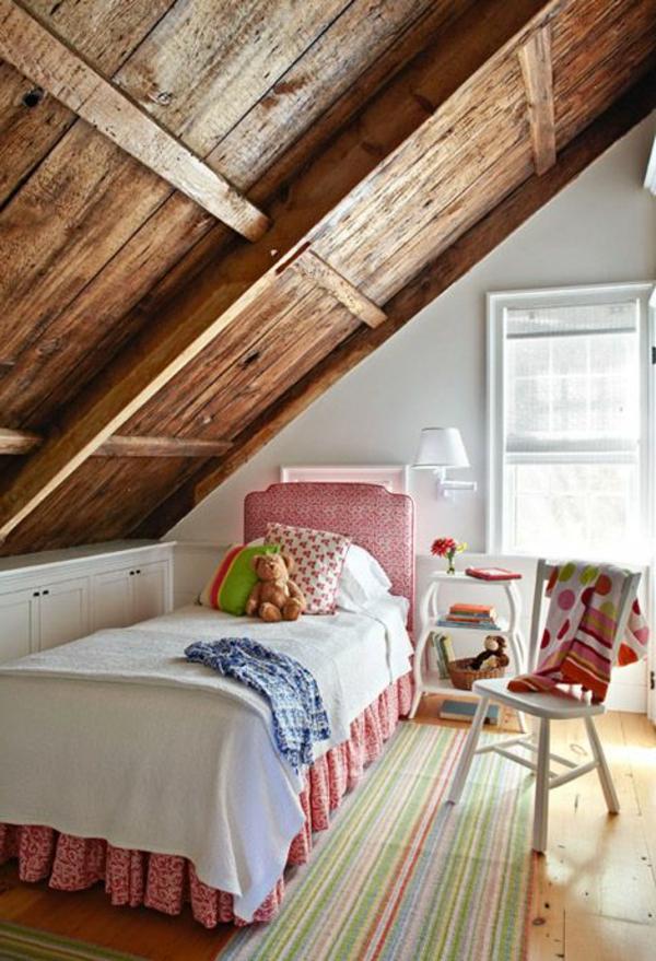 ideen deko dach holz Ideen für Kinderzimmergestaltung