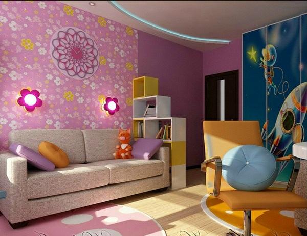 kinderzimmer gestalten ideen deko mädchen design